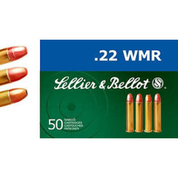 Sellier & Bellot 22 WMR 45gr CPRN 50 Rounds