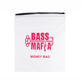 "Bass Mafia Money Bag 15"" x 26"""