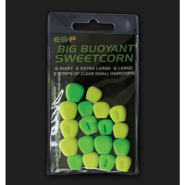 ESP Big Buoyant Sweetcorn. Green & Yellow