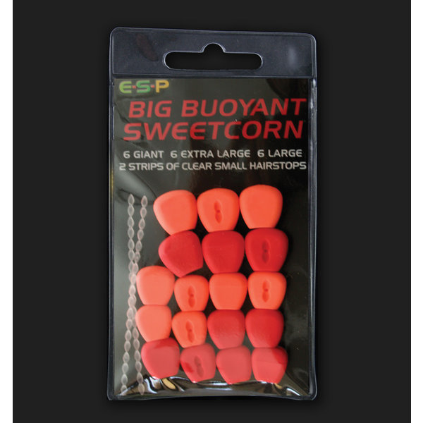 ESP Big Buoyant Sweetcorn. Red & Orange