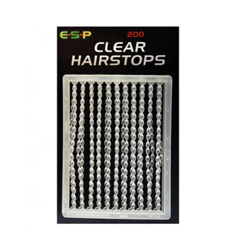 ESP Hair Stops Small Clear