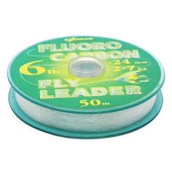 Drennan Fluorocarbon Leader 3lb 50m Spool.