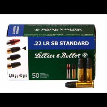 Sellier & Bellot Ammo, 22LR 40gr SB Standard