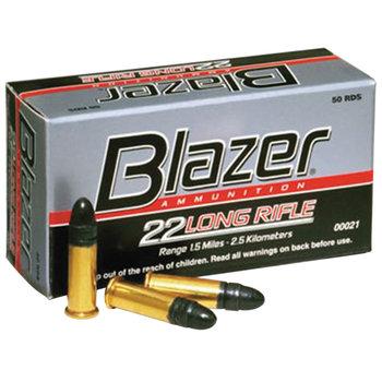 CCI Blazer 22LR Rimfire Ammo 40gr Lead Round Nose Per 50