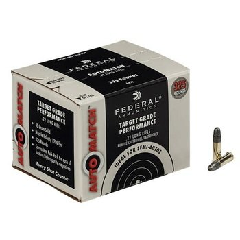 Federal AutoMatch Target Ammo 22 LR 40gr 1200fps 325 Rounds