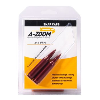 A-Zoom Snap Caps 243 Win 2/Pk