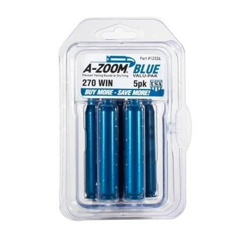 A-Zoom Snap Caps 270 Win Blue 5/Pk