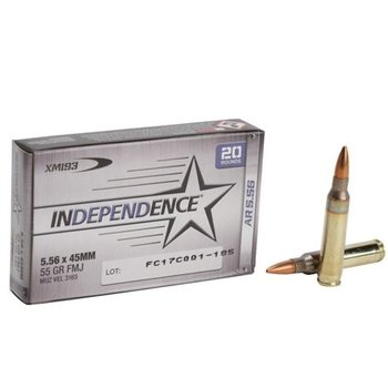 Federal 5.56 55gr Full Metal Jacket Ammunition 20 Rounds