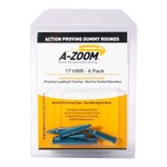 A-Zoom Snap Caps 17 HMR Proving Rounds 6/Pk