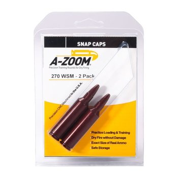 A-Zoom Snap Caps 270 WSM 2/Pk