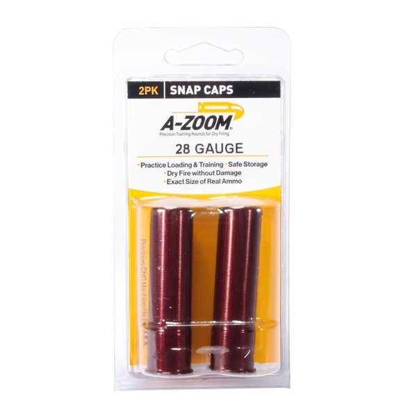 A-Zoom Snap Caps 28 Gauge 2/Pk