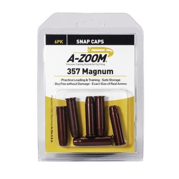 A-Zoom Snap Caps 357 Mag 6/Pk