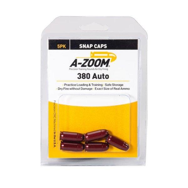 A-Zoom Snap Caps 380 Auto 2/Pk