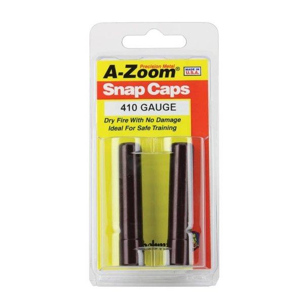 A-Zoom Snap Caps 410 Gauge 2/Pk