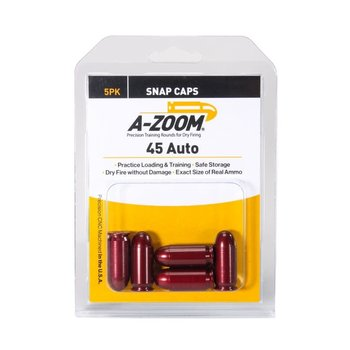 A-Zoom Snap Caps 45 ACP 5/Pk