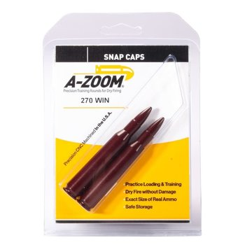 A-Zoom Snap Caps 270 Win 2/Pk