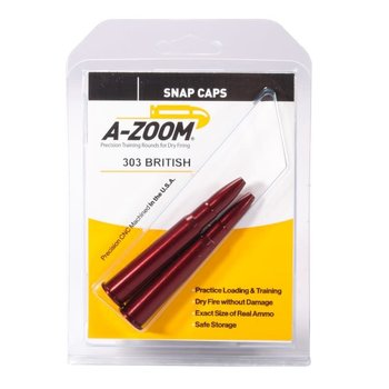 A-Zoom Snap Caps 303 British 2/Pk