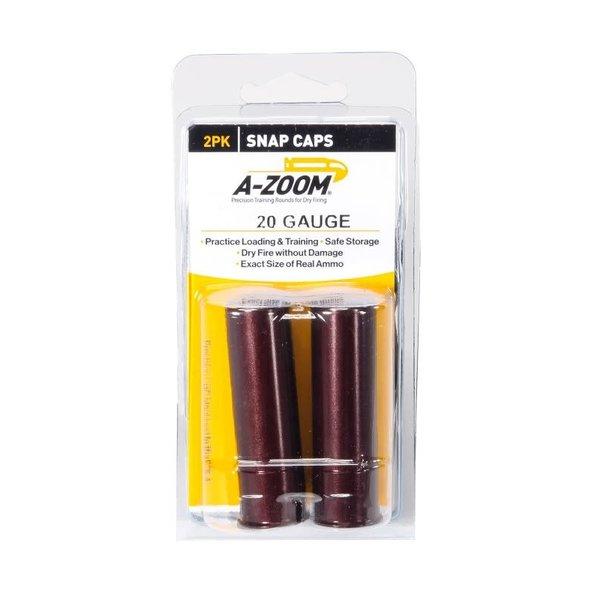 A-Zoom Snap Caps 20 Gauge 2/Pk