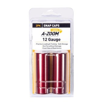 A-Zoom Snap Caps 12 Gauge 2/pk