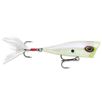 """Storm Arashi Cover Pop. 3-1/8"""" Ghost Chartreuse Shad"""