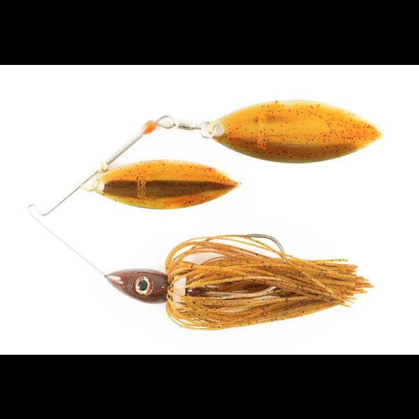 Nichols Pulsator Metal Flake 1/2oz Suwannee River Red. Double Willow