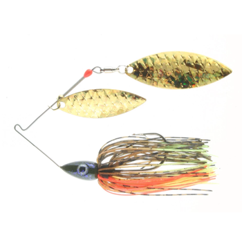 Nichols Pulsator Shattered Glass 1/2oz Bluegill. Double Willow