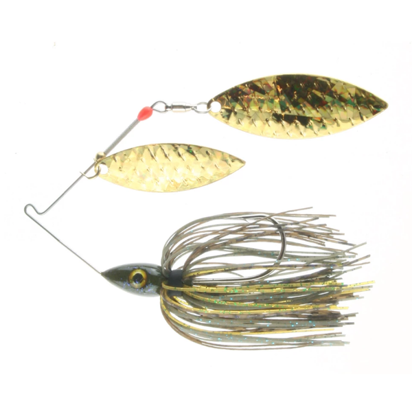 Nichols Pulsator Shattered Glass 1/2oz DB's Sungill Gold. Double Willow