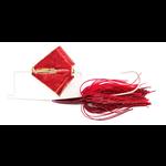 Nichols Reflex Metal Flake Buzzbait 3/8oz Red Shad