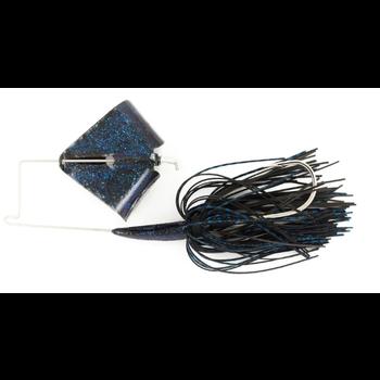 Nichols Reflex Metal Flake Buzzbait 3/8oz Black & Blue