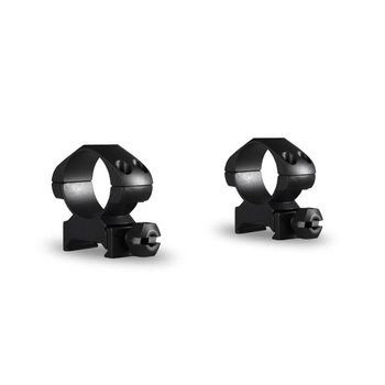 "Hawke Optics Precision Steel Ring Mounts 1"" 2-Piece Weaver Medium"