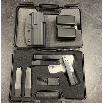 Steyr L9-A1 9mm  Semi Auto Pistol w/Bushnell Red Dot, 6 Mags Holster & Mag Pouch
