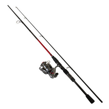 Quantum Optix 30/6'6M 2-pc Spinning Combo.