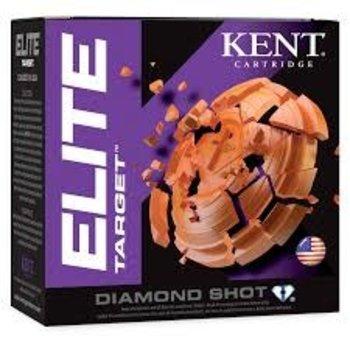"""Kent Elite Target Ammo, 12ga 2-3/4"""" 1oz #7.5 Shot 1200fps 25rds"""