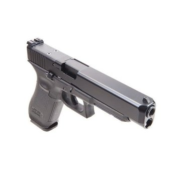 Glock G34 MOS Gen 5 HGA Target Pistol, 9mm, GNS Glow Night Sights