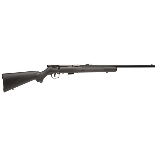 "Savage Mark II F, 22 LR, Bolt-Action, Synthetic / Blue, 21"" Barrel, with Accutrigger and Sights"