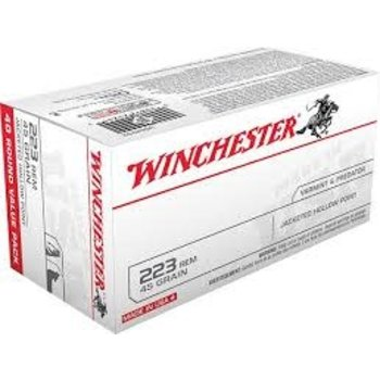 Winchester USA 223 Rem 40 Rd Value Pack