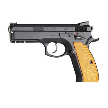 "CZ 75 SP-01 Shadow Orange Semi-Auto Pistol 9mm Orange Grips 4.5"" Barrel"