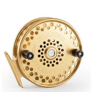 Islander Steelheader Float Reel, Gold ABEC-7