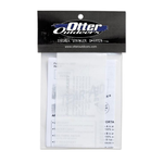 """Otter Fish House Patch Material. (Clear 5-3/4"""" x 3"""")"""