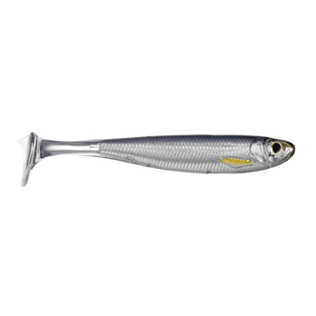 "Koppers Live Target Slow-Roll Shiner 5"" Silver/Smoke"