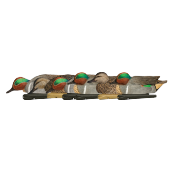 Topflight Green-Winged Teal Decoys, 6 Pack