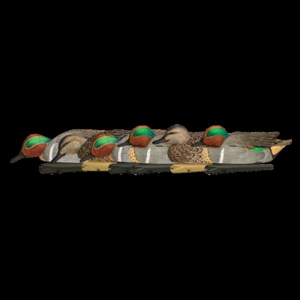 Avian-X Topflight Green-Winged Teal Decoys, 6 Pack
