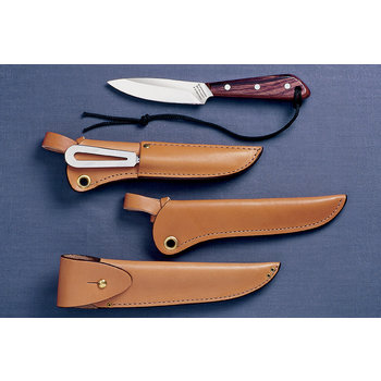Grohmann Grohmann Boat Knife Rosewood with Sheath