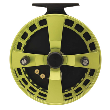 "Streamside Extreme 4.75"" Float Reel. Chartreuse"