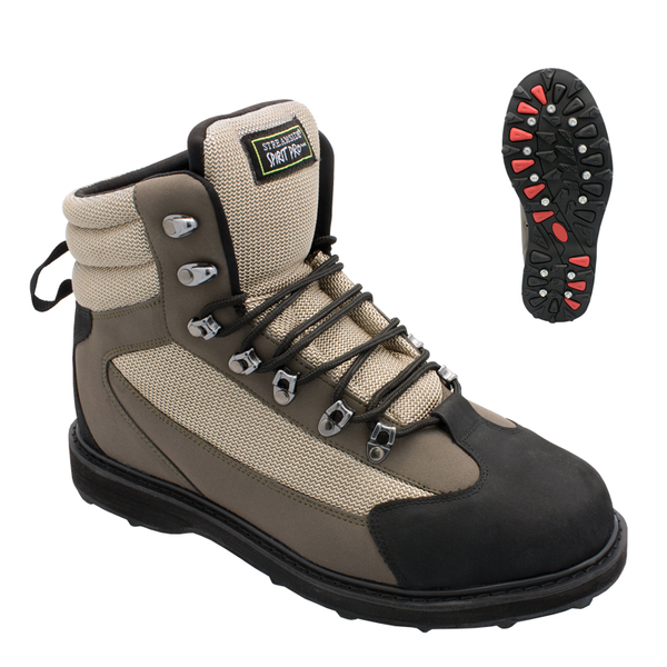 Streamside Wading Boots with Rubber Sole-Spirit Pro Wader Boot 13