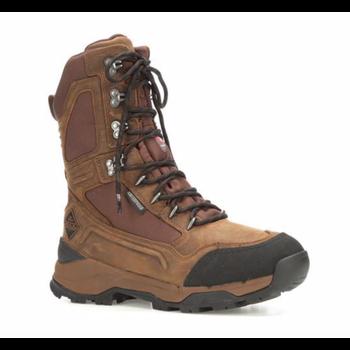 "Muck Men's Summit Lace 10"" Boot, Graham/Chocolate Brown, 10.5"