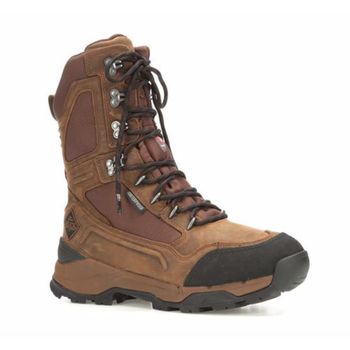 "Muck Men's Summit Lace 10"" Boot, Graham/Chocolate Brown, 11.5"