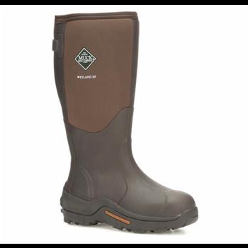 Muck Men's Wetland Wide Calf Boot, Brown, 14