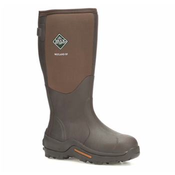 Muck Men's Wetland Wide Calf, Brown, 15