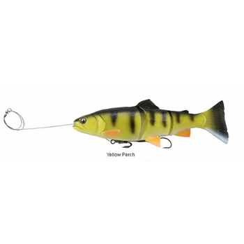 "Savage Gear Prerigged 8"" Trout Yellow Perch"